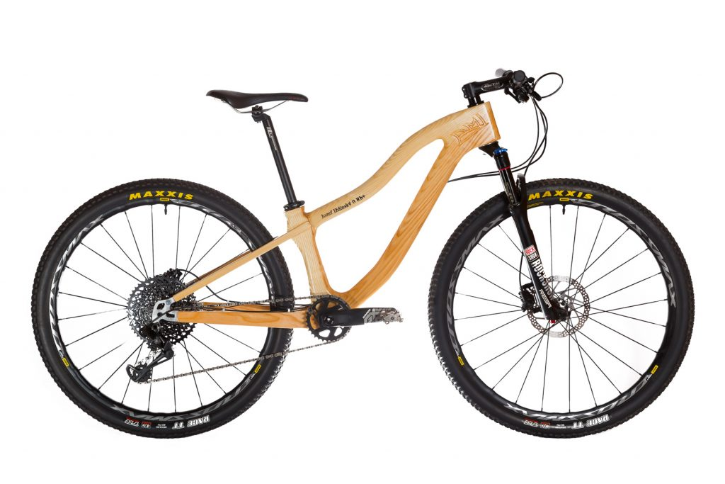 Horský drevený bicykel BIKEMI Wooden Adventurer Natural 29