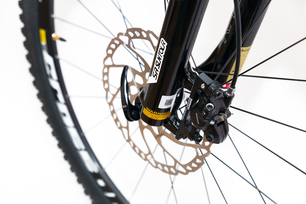 Horský drevený bicykel BIKEMI Wooden Explorer Natural 27,5 detail 4