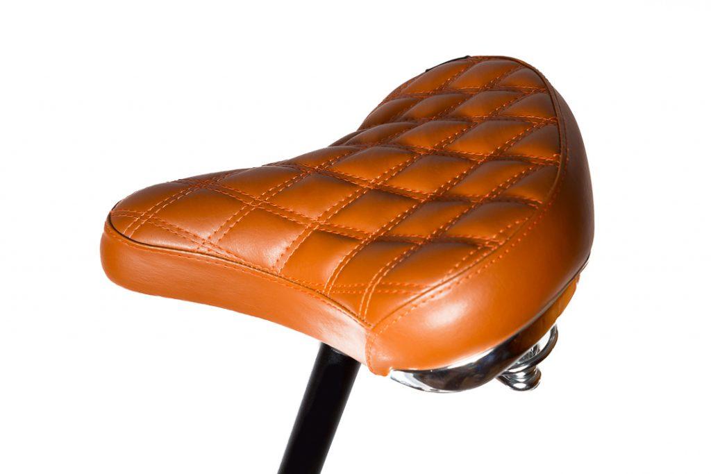 Mestský pánsky drevený bicykel BIKEMI Wooden Gentleman brown hnedý detail 7